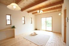 塗壁とダブルの断熱で快適な家。