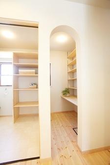 セルロースファイバーを贅沢に使用した健康住宅