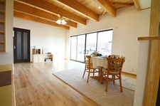 和空間が楽しい家