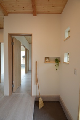 3畳の個室が5つの平屋