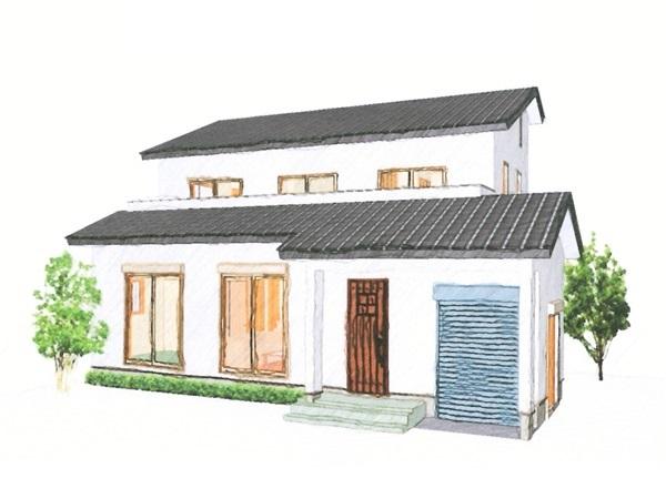 木とバイクが好きな人の家