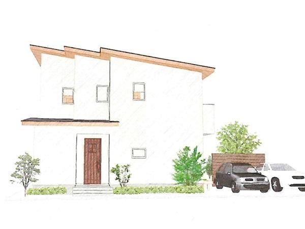 趣味の道具を土間収納で解決する、収納上手な家。