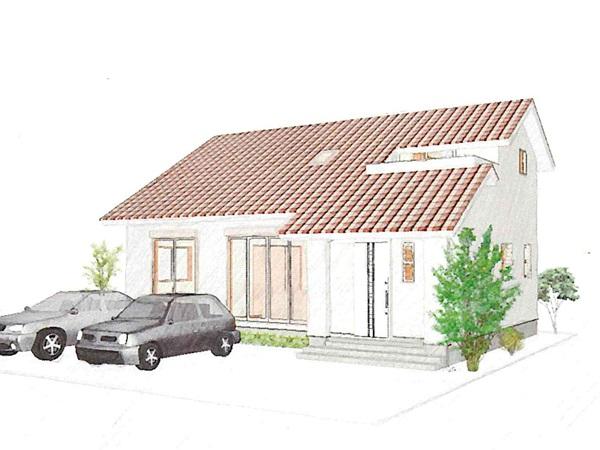 子ども達の帰省にも柔軟に対応できる自然素材を生かした家。