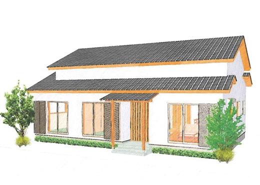 和風の落ち着きを重視した続き間のある平屋住宅
