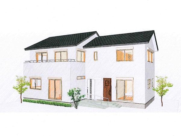 将来設計を考えたゆとりの家