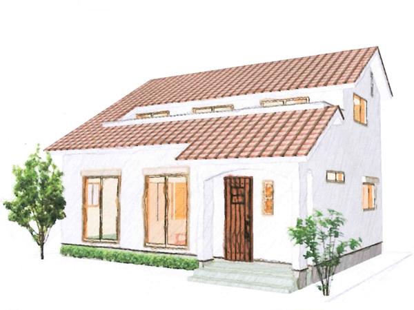 小屋裏を有効活用した家