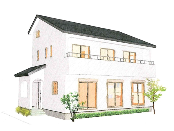 品よくシンプルな家