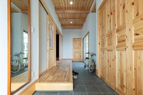 土間×塗り壁×木の家/ゼロエネ住宅 @浜松
