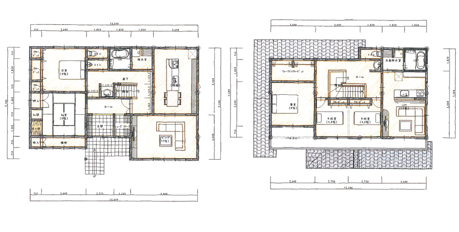 ちょうど良い距離感の2世帯住宅