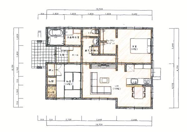 心地よい解放感に包まれるコンパクト住宅