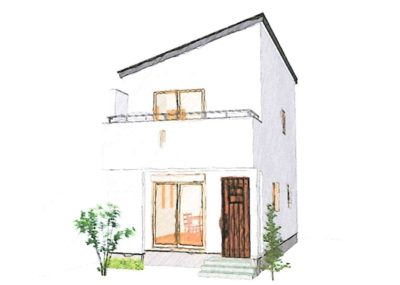 23坪の自然素材でつくる家