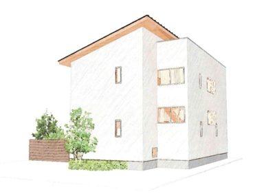 湿度が自然に調節される、無垢材を活用したシンプルモダン住宅