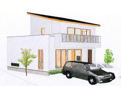 土間収納のある家