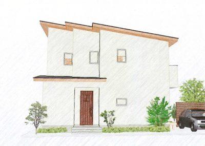 広々、ゆとり空間の家