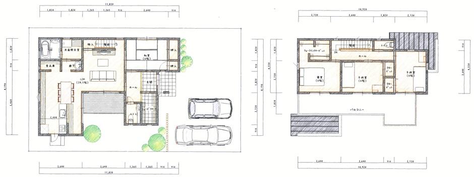 湿度を自然に調節する、シンプルモダン住宅