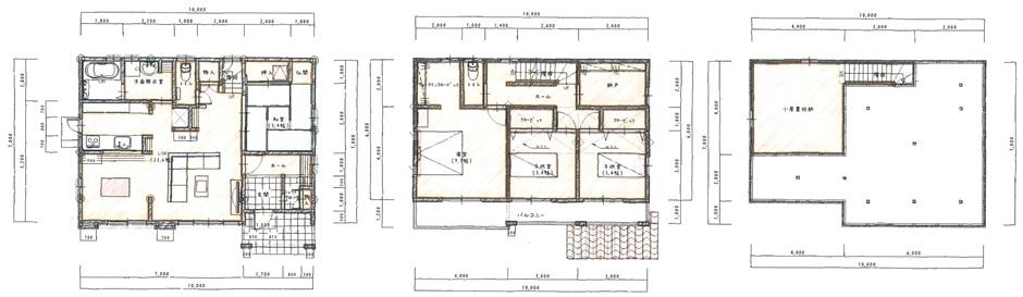 自然素材でできた呼吸する家
