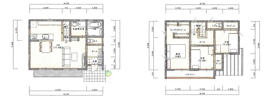 スタイリッシュなコンパクト住宅