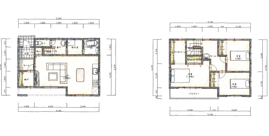 モノトーンで個性的なデザインハウス(ハイスペック)