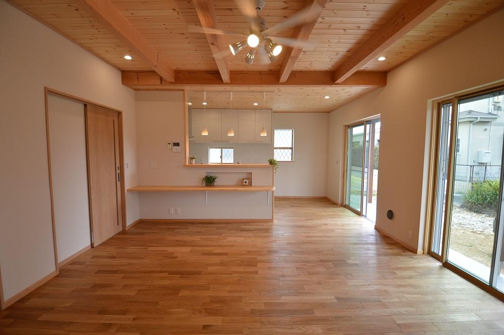 屋根裏部屋のある片流れの家/長期優良住宅 @浜松