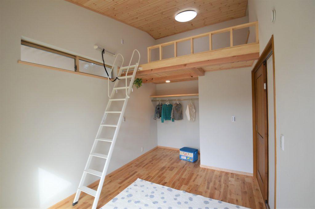 23坪・2LDK平屋 ガレージ+ロフト付モデルハウス 長期優良住宅@浜松