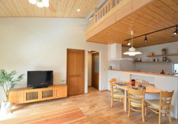平屋の新築建売住宅。2LDK+ロフト、庭&車庫付で販売中@浜松市